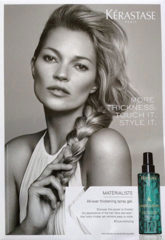 Kate Moss for L'Oreal