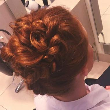 Trompe-L'Oeil Top Knot Braid