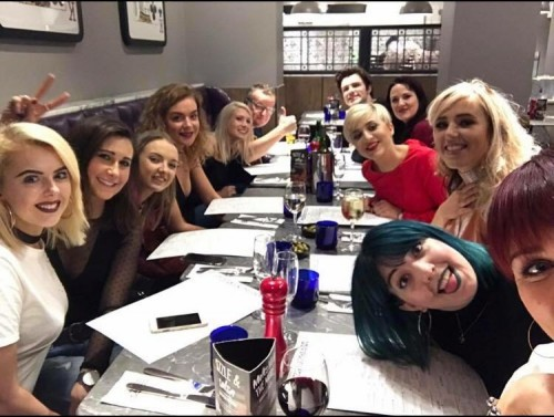 Deon had a great time at the L'Oreal ID Artist programme in Manchester.