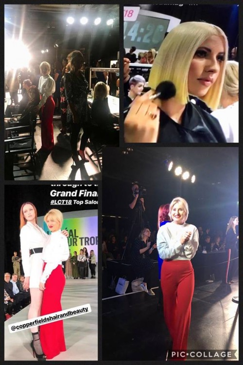 Hayleigh was crowned the winner at the Scottish L'Oreal Colour Trophy Finals 2018!!
